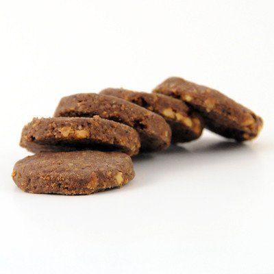 Biscotti cacao e arachidi