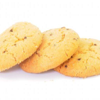 Biscotti leggeri cioccolati e uvetta