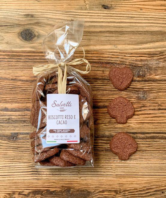 Biscotto riso e cacao